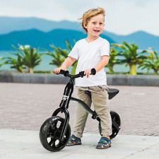 "12"" Classic Childrens Balance Bike No Pedal Toddler Push Bicycle"