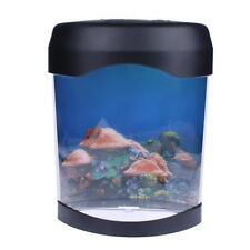 Home Decor Colorful LED Nightlight Jellyfish Tank Sea World Swimming Mood Lamp