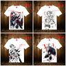 Anime Attack on Titan Casual T-shirt Short Sleeve Unisex Tops Tee #K6YY