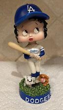 Los Angeles Dodgers Betty Boop Bobblehead 2002 - VERY RARE