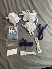 Lacrosse String Kit White Navy Blue Head Dye Ball Stopper Sidewall Shoooters