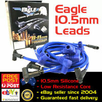 EAGLE 10.5mm Ignition Spark Plug Leads SB Chev 350 HEI Around V/Cover