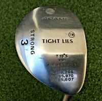 "Adams Tight Lies VMI Strong 3 Wood 13* / RH / Regular Graphite ~42.5"" / mm2799"