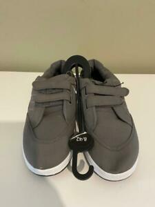 BXT Urban Men's Casual Fashion Canvas Trainers Grey - Size 8 UK - New