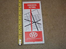 VANCOUVER VICTORIA AAA MAP AMERICAN AUTOMOBILE ASSOCIATION