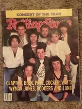 New listing Rolling Stone Magazine #413 Jan. 1984 Arms Concert
