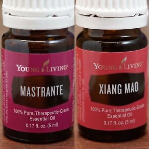 Xiang Mao 5ml. & Mastrante 5ml. + TWO Young Living Essential Oils
