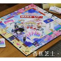Anime Sailor Moon Monopoly Edition Board Game Chinese version New In stock Hot