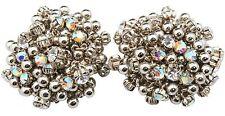 Zest jingly Swarovski Crystal pendientes Clip De Plata