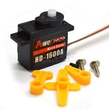 Power HD HD-1600A Micro Hi-Speed Coreless Motor Servo