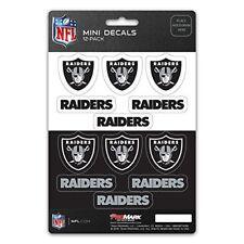 Oakland Raiders Mini Decals Stickers 12 Pack FAST USA SHIPPER