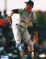 TOMMY JOHN HOF SIGNED 8X10 PHOTO AUTO AUTOGRAPH JSA COA NEW YORK YANKEES