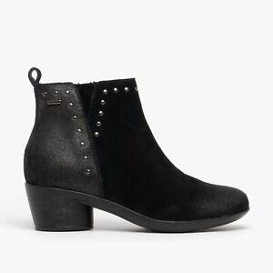 Romika DAISY 01 Ladies Stylish Winter Autumn Comfy Waterproof Ankle Boots Black