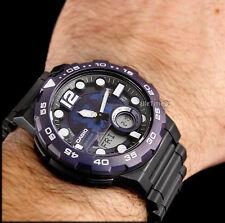 Reloj Casio watch BLUE & BLACK WORLD TIME TRAVELER ADVENTURE telenemo g shock