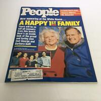 People Magazine: Jan 30 1989 - A Happy 1st Family Appearing at White House