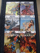 The FOUR HORSEMEN : COMPLETE 6 issue DC 52 AFTERMATH 2007 SERIES. WONDER WOMAN +