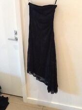 Net Girl size 10 Black mesh lace party dress