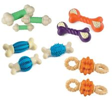 Nylabone Double Action Chews for Dogs Reduce Tartar and Freshens Dog Breath
