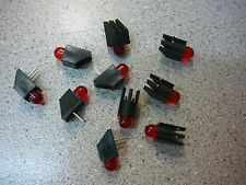 CHICAGO MINIATURE 5300H1 LED Lamp RED T-1 3/4 Rt Angle PCB **NEW** 10/PKG