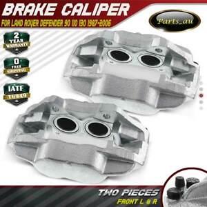 2x Brake Caliper Front Left & Right for Land Rover Defender 90 110 130 1987-2006