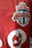 Toronto FC Reds Youth Adidas jersey.  damage.  MLS