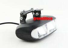 E-BIKE 24V 36V 48V LED SPOT LIGHT HEAD LAMP WITH HORN FRONT FORK LIGHT SCOOTER