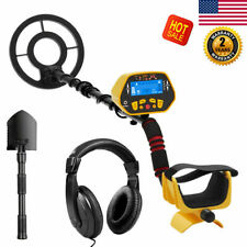 Led Metal Detector Gold Digger Hunter Deep Sensitive Search Finder Waterproof Us