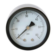 0-60 PSI Air Pressure Gauge Axial Pressure Gauge for Air/Water/Oil Y50Z