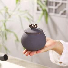 Nero Piccola ceramica carrello di tè Ceramiche scatola metallica Contenitore