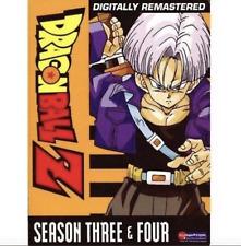 DragonBall Z: Season Three/Season Four (DVD, Digitally Remastered) Brand New