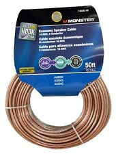 Monster Cable Economy Audio Speaker Wire 16 Gauge - 50 Ft
