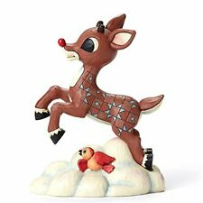 Enesco Traditions by Jim Shore Rudolph Flying Above Clouds 7 in Figurine