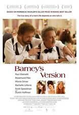 BARNEY'S VERSION Movie POSTER 27x40 C Paul Giamatti Macha Grenon Paul Gross Atom