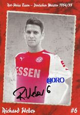 Richard WEBER + RW ESSEN + Saison 2014/2015 + Original Autogrammkarte