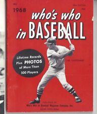 1968 Who's Who in Baseball Magazine, Carl Yastrzemski, Boston Red Sox GOOD