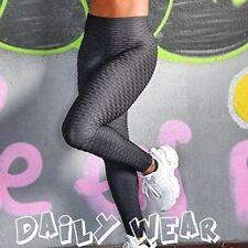 Women Anti-Cellulite Yoga Pants High Waist Leggings Butt Lift Exercise Workout