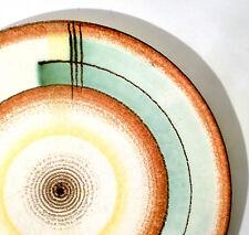 Elsterwerda Spritzdekor Tortenplatte U. Fesca cake plate plat á gâteau Bauhaus
