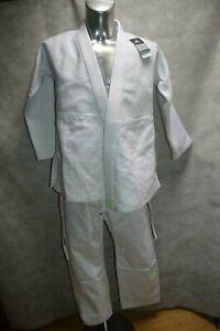 Set Judo Millenium J 900 ADIDAS Size 150 New White Logo Fluo
