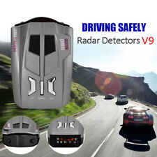 V9 360 Degrees 16 Band Scanning LED Radar Detector Car Speed Testing System USA
