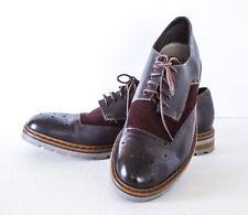 Clarks Men's Dargo Limit Chestnut Combination Leather Spectator Shoes Size 13