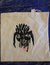 JONAS WOOD Limited Edition Silkscreen Print Dog Doodle Canvas Tote Bag SOLD OUT!