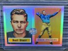 2001 Topps Archives Reserve Bart Starr Refractor 1957 Reprint #5 Packers D203