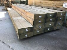 Treated Pine H4 Sleeper 200x75 3.0m Retaining Wall Garden Landscape Sleepers KD