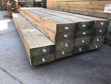 Treated Pine H4 Sleeper 200x75 3.0m Retaining Wall Garden Landscape Sleepers KD