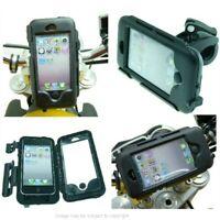 IPX4 Impermeabile Aggancio Rapido Custodia Rigida Bici Moto Supporto Per Iphone