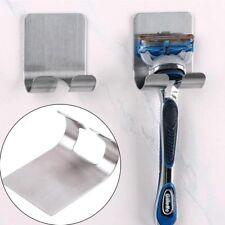 Stainless Steel Shaver Toothbrush Holder Washroom Wall Cup Hook Razor Bathroom