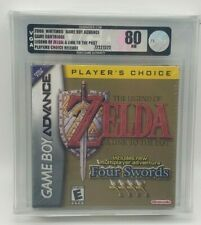 Zelda a Link to the Past Four Swords Game Boy Advanced GBA VGA Grade Silver 80