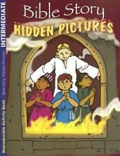 Bible Story Hidden Pictures : Coloring and Activity Book by Robin Fogle...