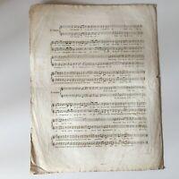 Partitura El Mal de Amor Plouvier Música H. Monpou Francia Musical Siglo XIX