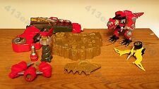 "Power Rangers Dino Thunder ""Dino Zord Controller and Fossil Finder"" lot"